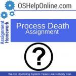 Process Death