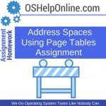 Address Spaces Using Page Tables