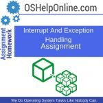Interrupt And Exception Handling